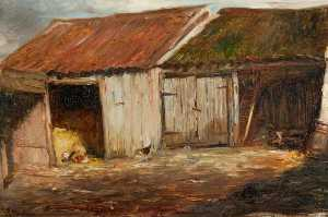 George Paul Chalmers - Old Sheds