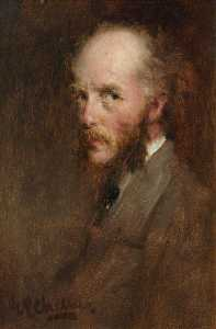 George Paul Chalmers - Self Portrait 3