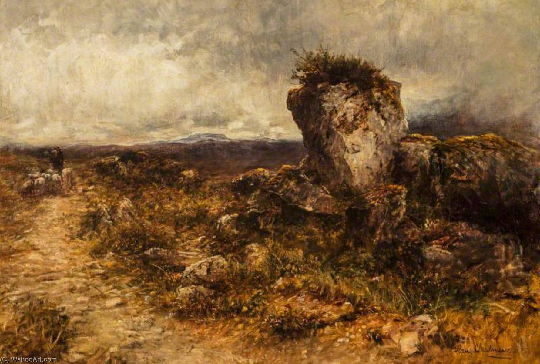 Order Museum Quality Copies | The Eagle`s Nest, Skye by George Paul Chalmers | WahooArt.com