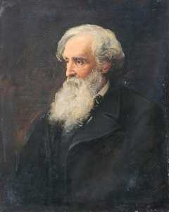 John Archibald Alexander Berrie - Henry Clarence Whaite (1828–1912), President of the Royal Cambrian Academy of Art (1885–1912)