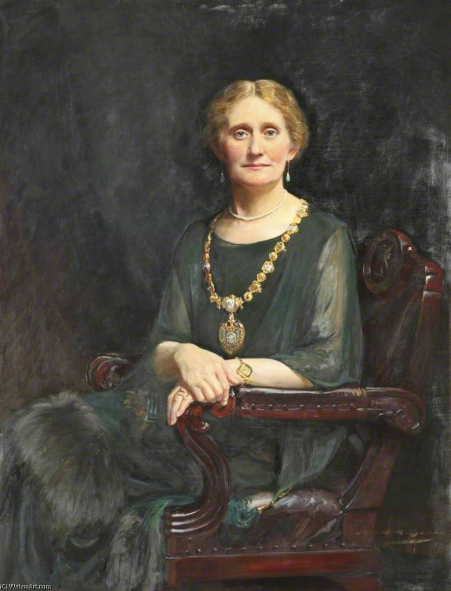 Mrs Dowd, Oil On Canvas by John Archibald Alexander Berrie