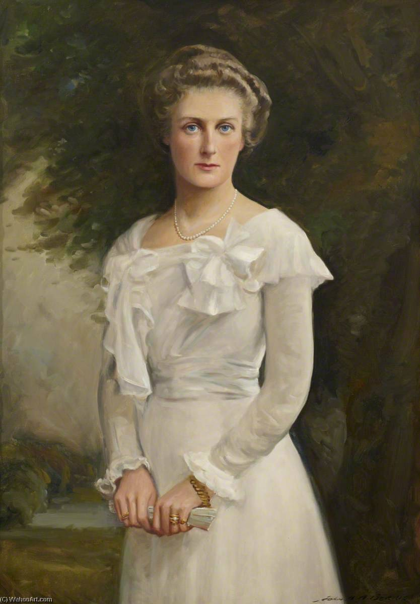 Florence Blair Bell, 21 August 1929, Oil On Canvas by John Archibald Alexander Berrie