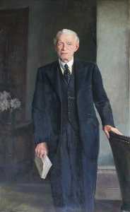 John Archibald Alexander Berrie - Major Thomas Clayton Toler, Chairman of Cheshire County Council (1935–1940)
