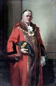 John Archibald Alexander Berrie - Alderman C. Heweston Nelson, JP, FSAA, Mayor of Wallasey