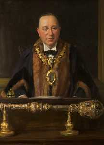John Archibald Alexander Berrie - Austin Matthew Crowe, JP, Mayor of Warrington (1933–1935)