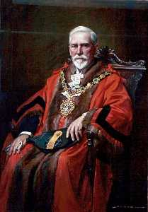 John Archibald Alexander Berrie - Alderman John Oldershaw, MD, JP, Mayor of Wallasey