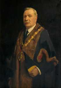 John Archibald Alexander Berrie - Alderman James Thomas Locker, JP, Mayor of Warrington (1923–1925)