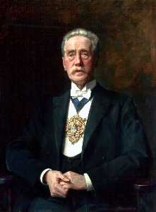John Archibald Alexander Berrie - Alderman Chantrell, JP, Mayor of Wallasey