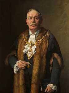 John Archibald Alexander Berrie - Alderman Sir Peter Peacock (d.1948), JP, Mayor of Warrington (1913–1919)
