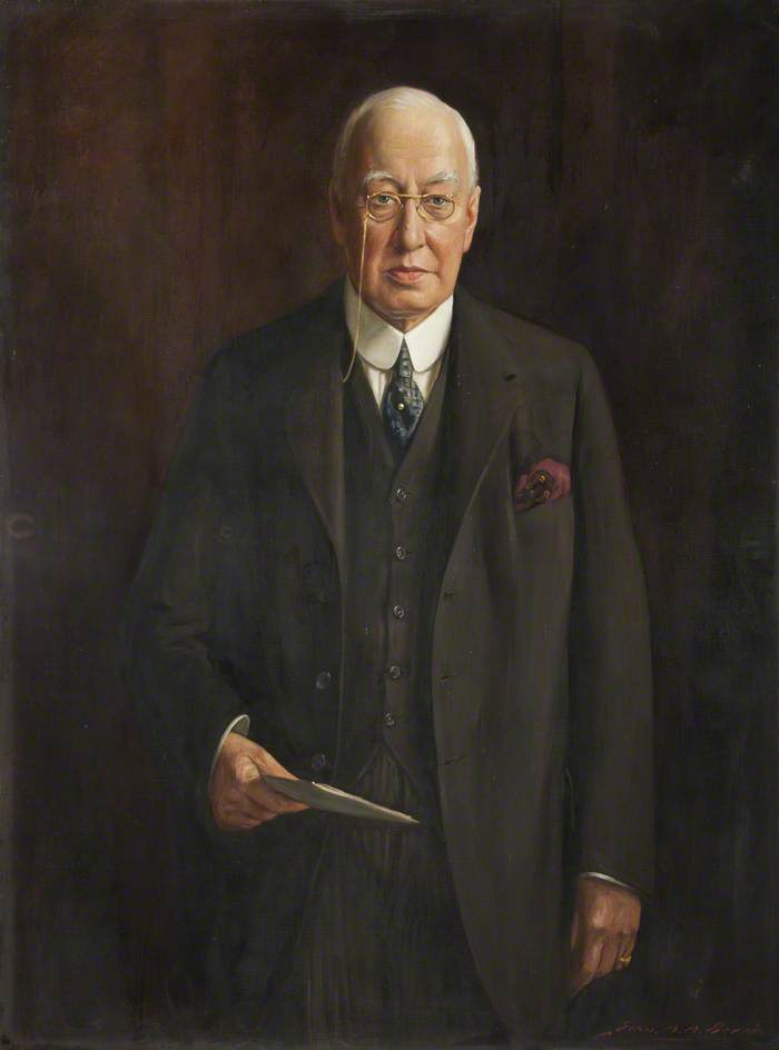 Sir James Travis Clegg (1874–1942), Oil On Canvas by John Archibald Alexander Berrie