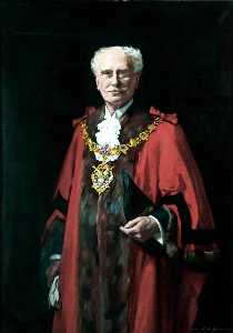 John Archibald Alexander Berrie - Alderman Frank F. Scott, Mayor of Wallasey