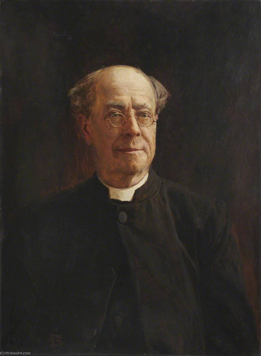 Reverend John Edmond, Oil On Canvas by John Archibald Alexander Berrie