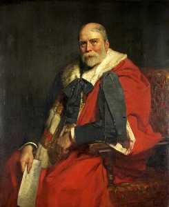 Hugh Goldwin Riviere - The Right Honourable William Henry, Baron Winterstoke of Blagdon