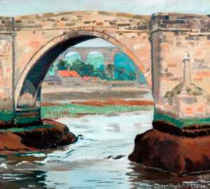 Dorothy W Moore - Principal Arch, Old Bridge, Berwick on Tweed