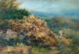 William Henry Hope - At the Foot of Croham Hurst, Croydon, Surrey