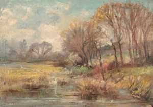 William Henry Hope - Waddon Hill Pond