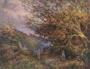 William Henry Hope - An Autumn Afternoon, Shirley, Surrey