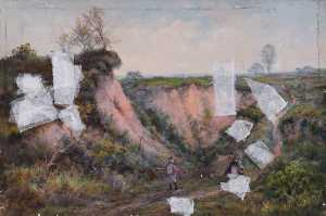 William Henry Hope - An Old Surrey Gravel Pit