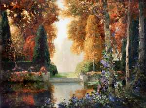 Thomas Edwin Mostyn - Silver and Gold