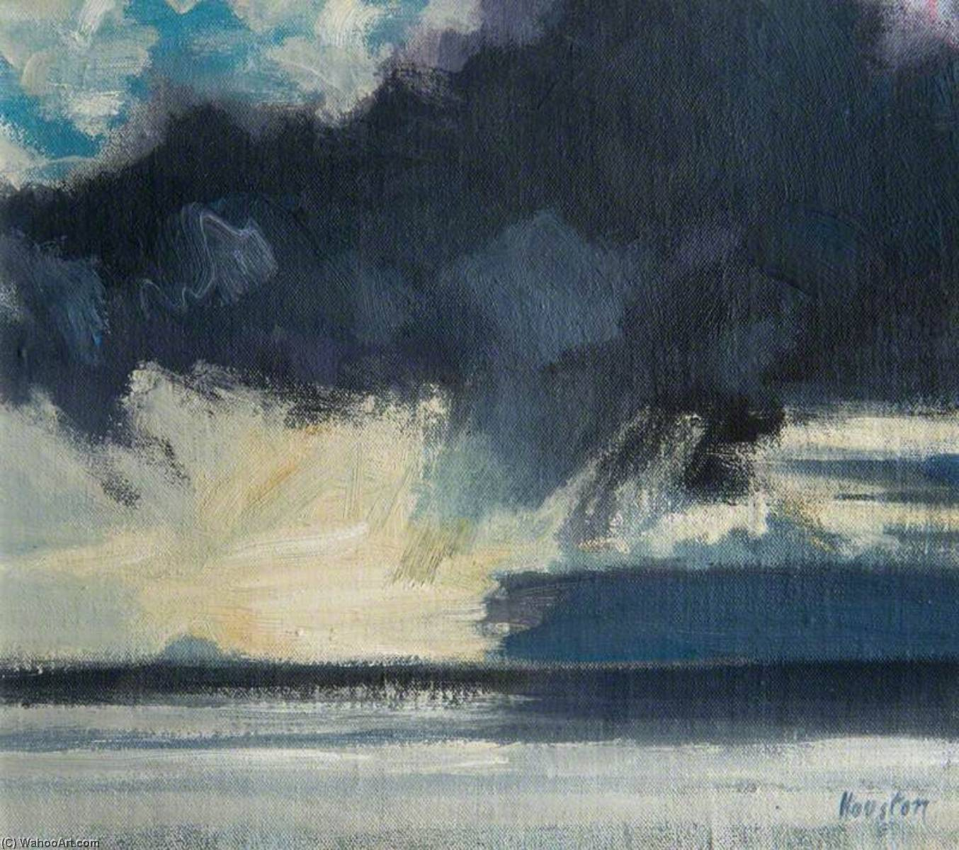 Storm over the Bass by John Houston | Museum Art Reproductions John Houston | WahooArt.com