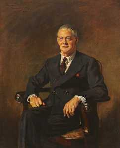 Reginald Henry Lewis - Viscount Nuffield (1877–1963) (after Oswald Hornby Joseph Birley)