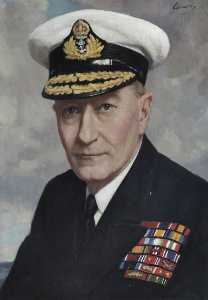 Reginald Henry Lewis - Admiral of the Fleet Sir John H. D. Cunningham (1885–1962), GCB, MVO, First Sea Lord and Chief of Naval Staff (1946–1948)