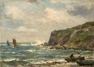 Bernard Finnigan Gribble - Lulworth Cove, Dorset