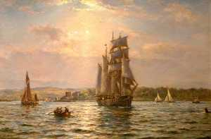 Bernard Finnigan Gribble - Poole Harbour, Dorset