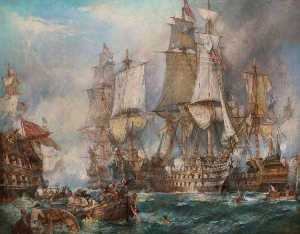 Bernard Finnigan Gribble - The Battle of Trafalgar, 21 October 1805