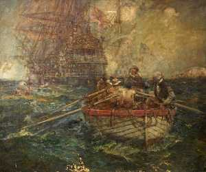 Bernard Finnigan Gribble - A Fight with Pirates on the High Seas