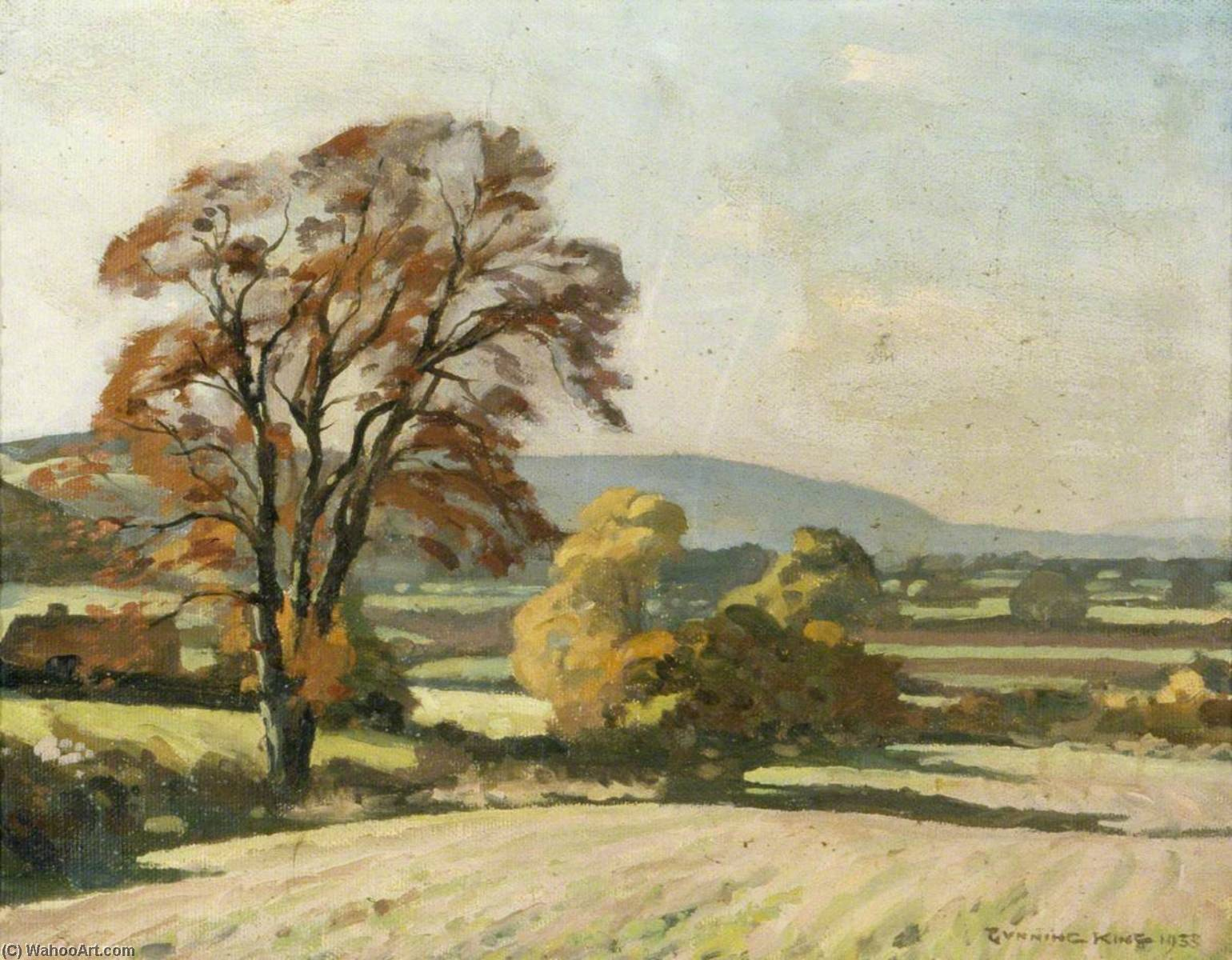 Autumn, Oil On Canvas by Gunning King