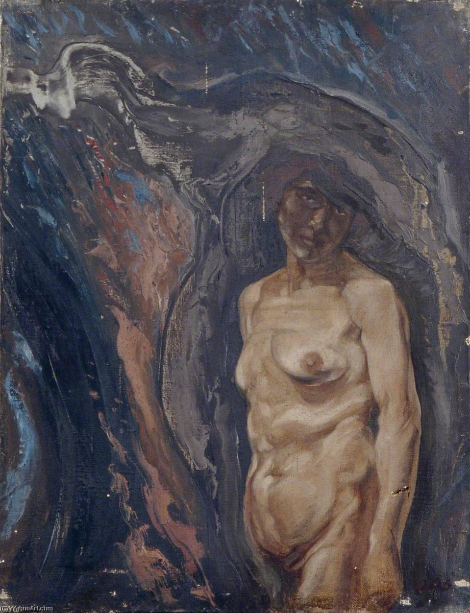 Nude, Oil On Canvas by Gunning King