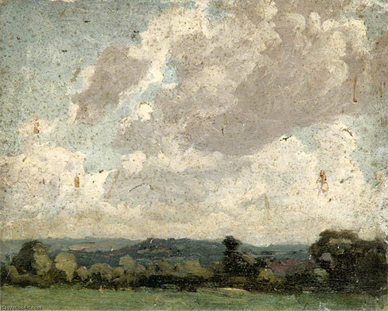 Cloudscape, Oil by Gunning King