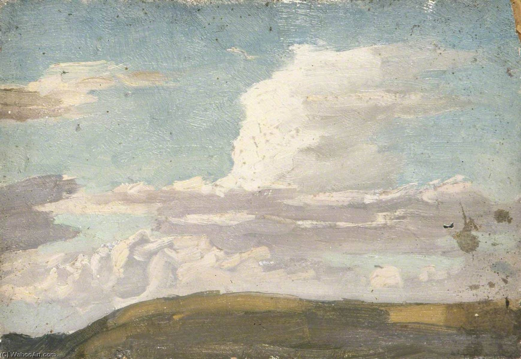 Cloudscape over a Hill by Gunning King | Art Reproduction | WahooArt.com