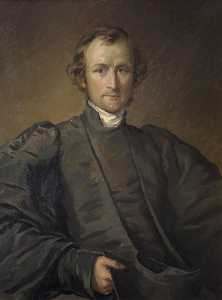 Donald Chisholm Towner - George Augustus Selwyn (1809–1878), Primate of New Zealand and Bishop of Lichfield, Scholar of St John's College (copy of George Richmond)