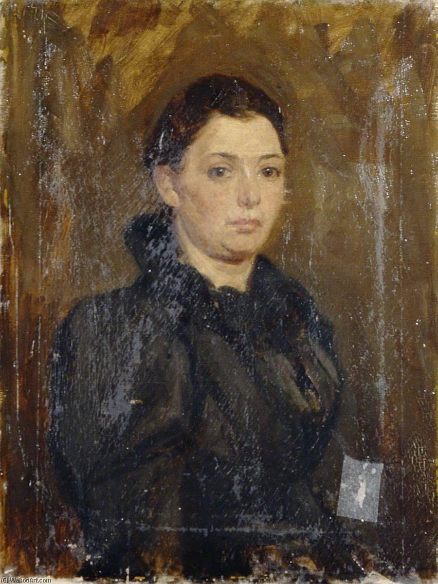Young Woman, Oil On Canvas by Gunning King