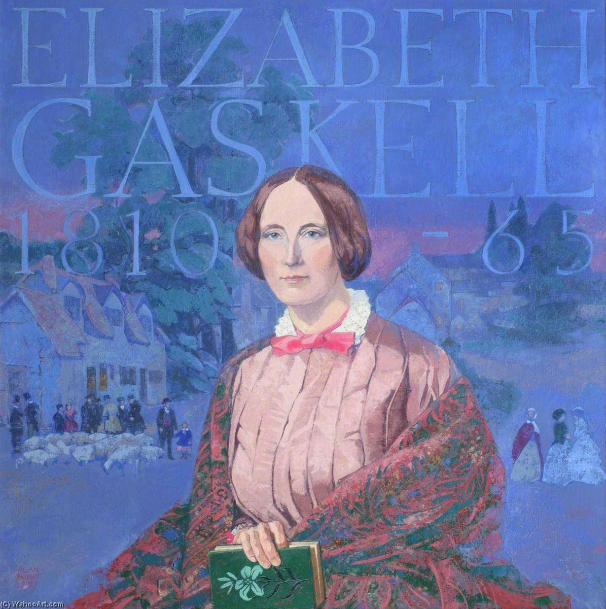 Elizabeth Gaskell (1810–1865), 1999 by Alan Bennett | Famous Paintings Reproductions | WahooArt.com