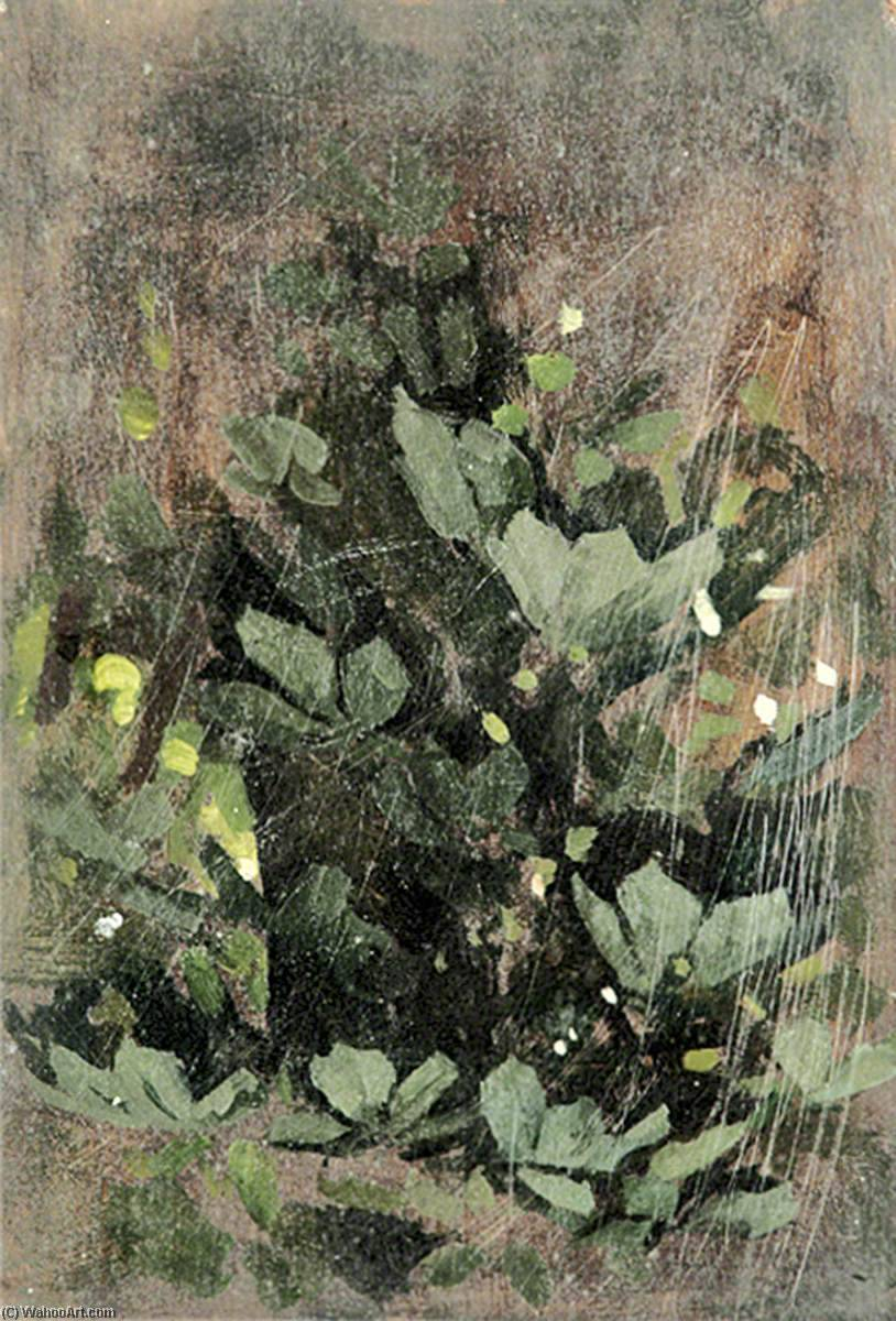 Green Leaves, Oil by Gunning King