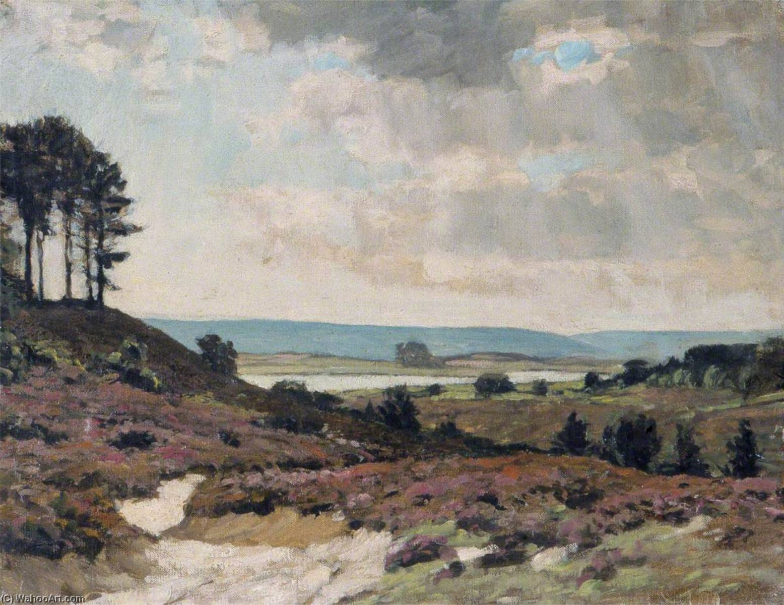 The Heath, Oil On Canvas by Gunning King