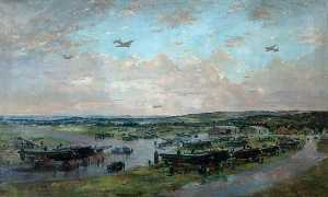 Charles Ernest Cundall - Lancasters