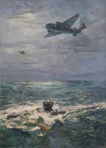 Charles Ernest Cundall - U570 Surrenders to a 269 Squadron Hudson Aircraft, 27 August 1941
