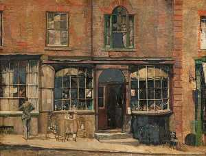 John Vicat Cole - The Old Antique Shop at Arundel