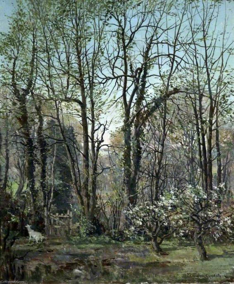 Spring Morning, Oil On Canvas by Charles Ernest Cundall