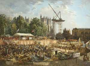 Charles Ernest Cundall - City of Bristol Council House, College Green, 10th June 1938, Foundation Stone Ceremony