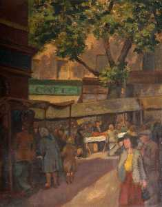 William Herbert Allen - Street Market