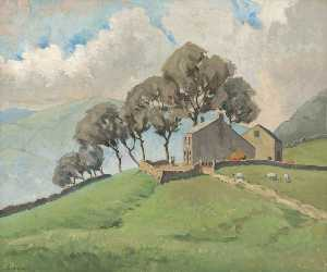 James Patchell Chettle - Above the Valley