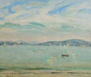 James Patchell Chettle - Early Morning, Poole Harbour