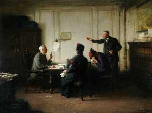 Frederick William Elwell - A Visit to the Lawyer