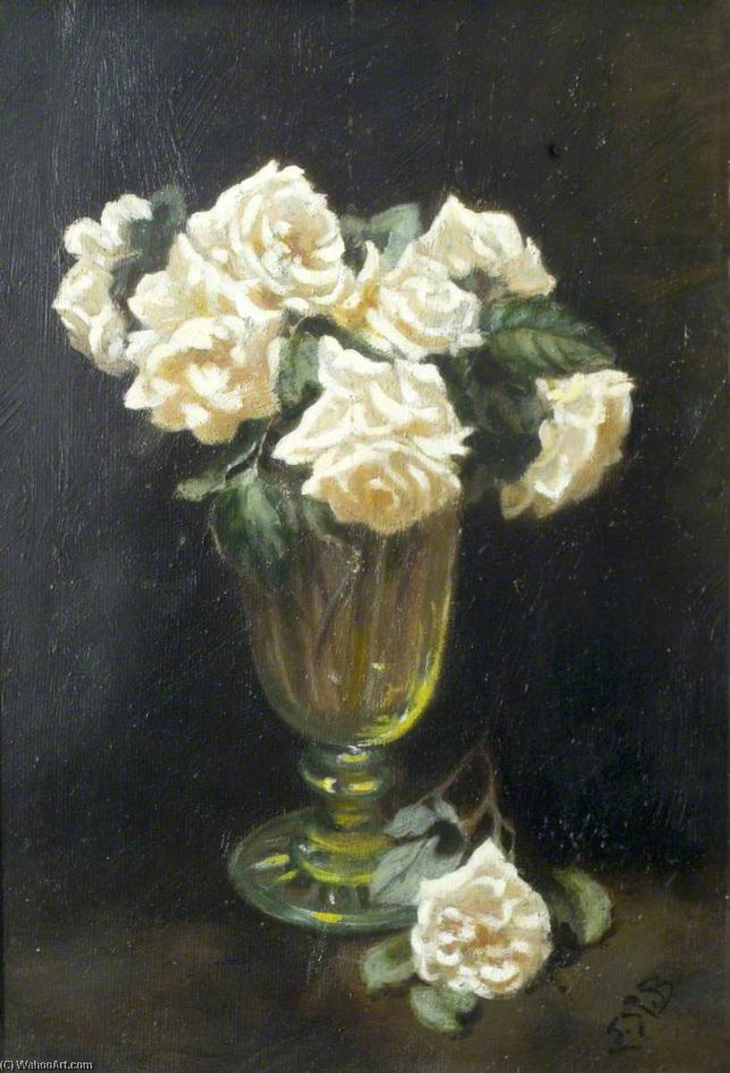 Bunch of Summer Flowers, 1930 by Ethel Susan Graham Bristowe | Painting Copy | WahooArt.com