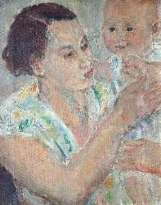 Ethel Walker - Mother and Baby
